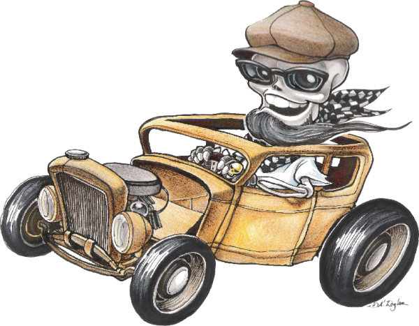 HotRod George by AlexZiegler - Copyright!